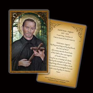 St. Isaac Jogues Holy Card
