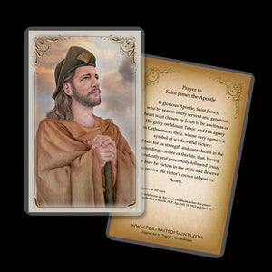 St. James the Greater Holy Card