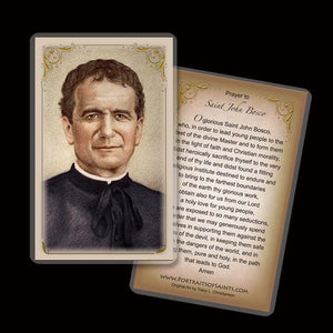 St. John Bosco Holy Card