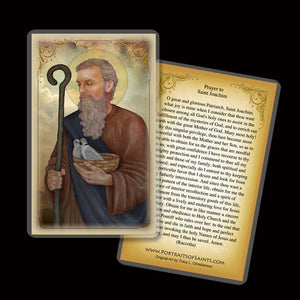 St. Joachim Holy Card