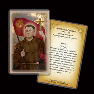St. John of Capistrano Holy Card