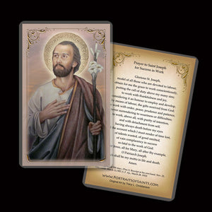 St. Joseph, Husband of Mary Holy Card