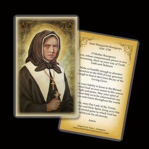St. Marguerite Bourgeoys Holy Card