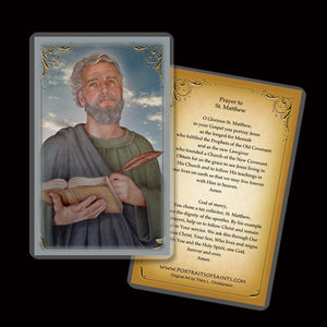 St. Matthew the Apostle Holy Card