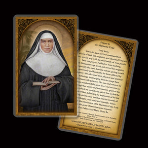 St. Marianne Cope Holy Card