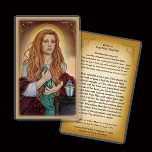 St. Mary Magdalene (B) Holy Card