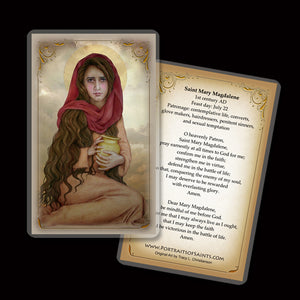 St. Mary Magdalene (C) Holy Card