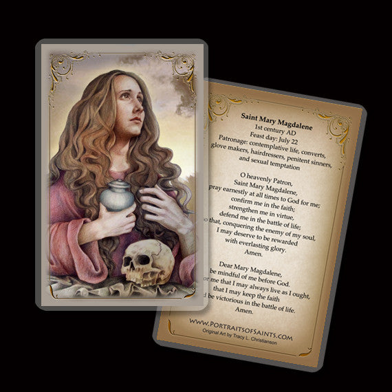 St. Mary Magdalene (A) Holy Card