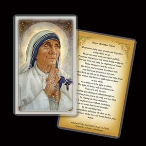 St. Mother Teresa of Calcutta (B) Holy Card