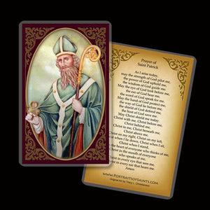 St. Patrick (A) Holy Card
