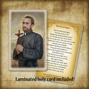 St. Peter Claver Pendant & Holy Card Gift Set