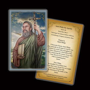 St. Philip the Apostle Holy Card