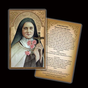 St. Therese of Lisieux (A) Holy Card