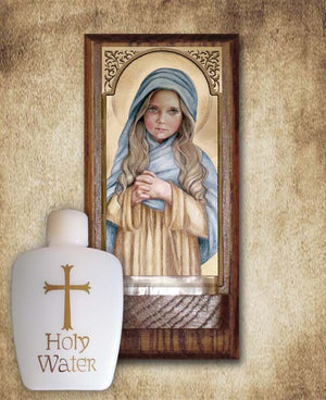 The Child Mary Holy Water Font