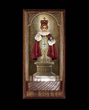 Infant of Prague Holy Water Font