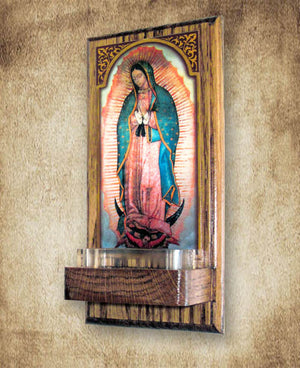 Our Lady of Guadalupe Holy Water Font