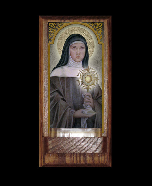 St. Clare of Assisi Holy Water Font