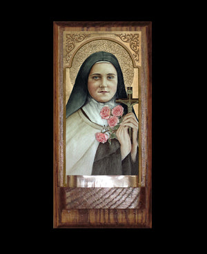 St Therese of Lisieux Holy Water Font