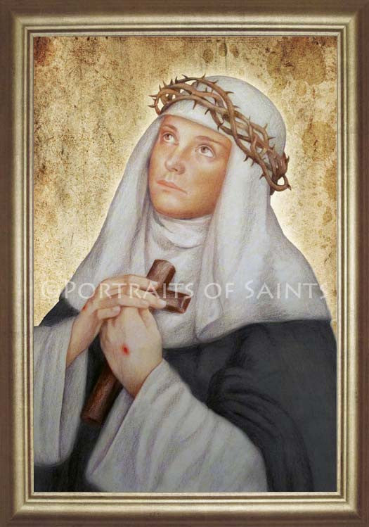 St. Catherine of Siena 2 Framed