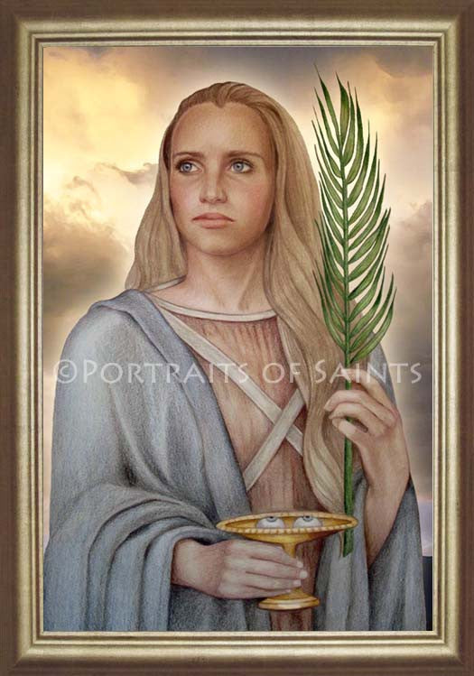 St. Lucy 2 Framed