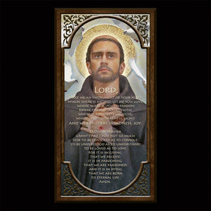 St. Francis of Assisi Inspirational Plaque