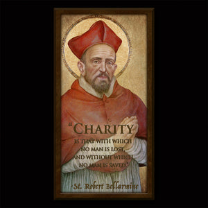 St. Robert Bellarmine Inspirational Plaque