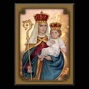Our Lady of Good Success Plaque & Holy Card Gift Set