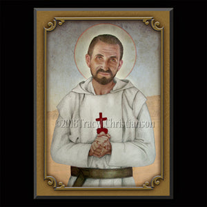 Bl. Charles de Foucauld Plaque & Holy Card Gift Set