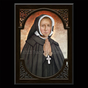 Bl. Dina Bélanger Plaque & Holy Card Gift Set