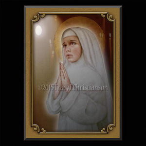 Bl. Imelda Lambertini Plaque & Holy Card Gift Set