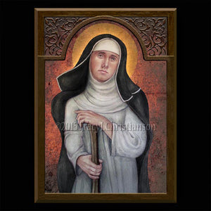 Bl. Margaret of Castello Plaque & Holy Card Gift Set