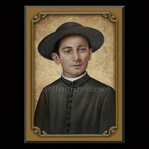 Bl. Rolando Rivi Plaque & Holy Card Gift Set