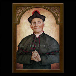 Fr. Nelson Baker Plaque & Holy Card Gift Set