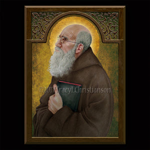Bl. Fr. Solanus Casey Plaque & Holy Card Gift Set