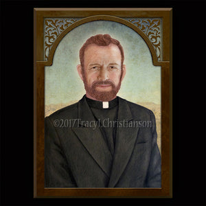 Bl. Fr. Stanley Rother Plaque & Holy Card Gift Set