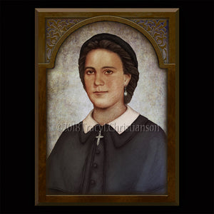 Venerable Henriette DeLille Plaque & Holy Card Gift Set