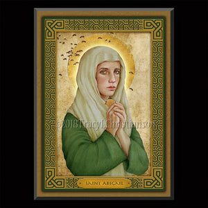 St. Abigail Plaque & Holy Card Gift Set