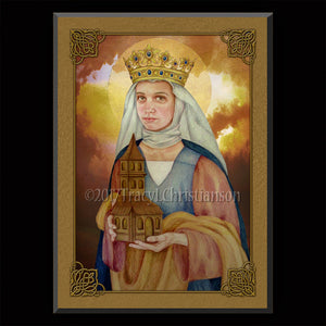 St. Adelaide Plaque & Holy Card Gift Set