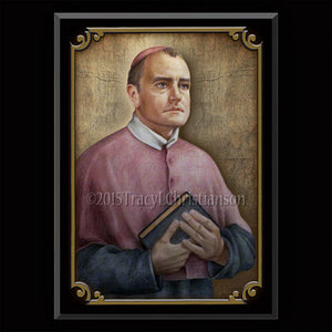 St. Alphonsus Maria de' Liguori Plaque & Holy Card Gift Set