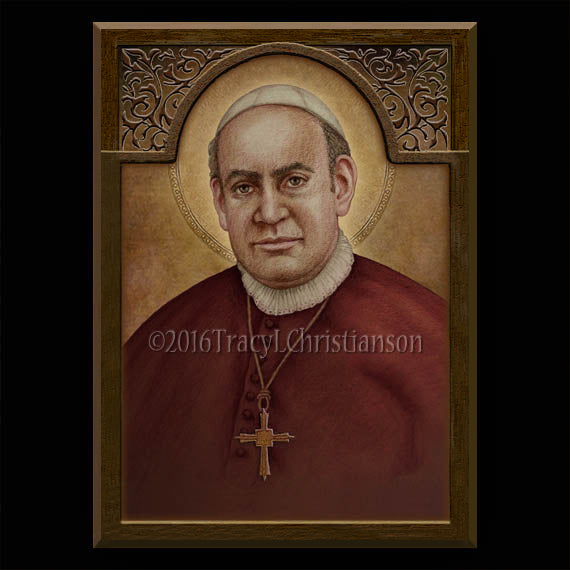 St. Anthony Mary Claret Plaque & Holy Card Gift Set
