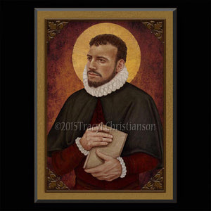 St. Edmund Campion Plaque & Holy Card Gift Set