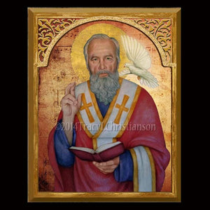 St. Gregory the Great 8x10 Plaque