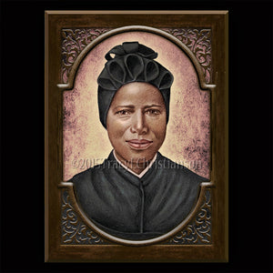 St. Josephine Bakhita Plaque & Holy Card Gift Set