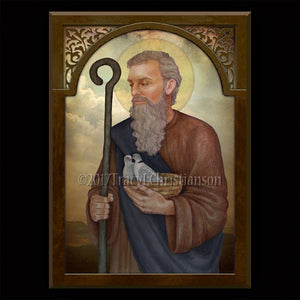 St. Joachim Plaque & Holy Card Gift Set