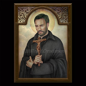 St. John of Avila Plaque & Holy Card Gift Set