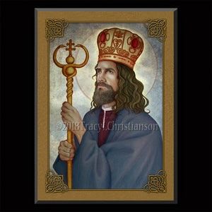 St. Josaphat Plaque & Holy Card Gift Set