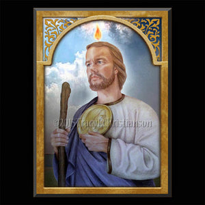 St. Jude Plaque & Holy Card Gift Set