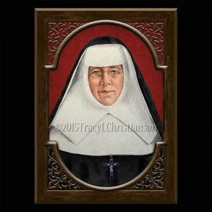 St. Katharine Drexel Plaque & Holy Card Gift Set