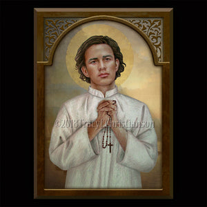 St. Lorenzo Ruiz Plaque & Holy Card Gift Set