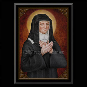 St. Louise de Marillac Plaque & Holy Card Gift Set
